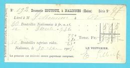 BRASSERIE HOUYOUX à NALINNES (HAIES) 1909  (460) - Belgique