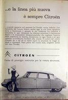 CITROEN    PUBBLICITA' ORIGINALE PICTURE OF VINTAGE PAPER 1960 - Pubblicitari