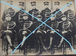 Photo De Groupe GENDARMES LESSINES 1942 Gendarme Rijkswacht Occupation Guerre Militaria - Non Classés