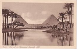 EGYPTE - LE CARE - CAIRO -  VUE DES PYRAMIDES DU NIL - Le Caire