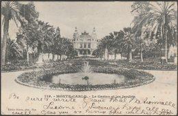 Le Casino Et Les Jardins, Monte-Carlo, 1904 - Gilletta CPA - Monte-Carlo