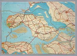 NL.- Eilanden Zuid-Holland En Zeeland. - Landkaarten