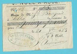 BRASSERIE BRASSEUR  NOEL-DEMERBE ACOZ  1883  (857) - Belgique