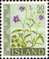 USED STAMPS Iceland - Flowers - 1962 - 1944-... Republik