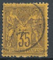 N°93 NUANCE ET OBLITERATION. - 1876-1898 Sage (Type II)