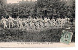 Ecole Militaire De Rambouillet : Excercice De Boxe. - Manoeuvres
