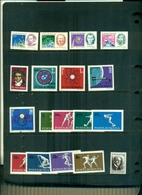 ROUMANIE ANNIVERSAIRES 71-EXPO MONTREAL-BEETHOVEN-SPORTS-A.SCHWEITZER 18 VAL NEUFS A PARTIR DE 0.80 EUROS - 1948-.... Republics