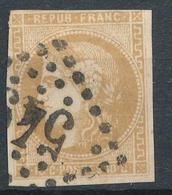 N°43 BORDEAUX NUANCE ET OBLITERATION - 1870 Bordeaux Printing