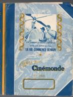 """(cinéma) Couvre-livre CINEMONDE  """"la Vie Commence Demain""""  (PPP10098) - Buvards, Protège-cahiers Illustrés"""