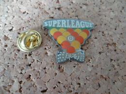 PIN'S   BILLARD  SUPERLEAGUE - Billiards