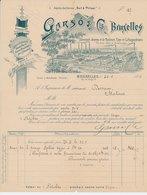 Factuur / Brief  Bruxelles / Brussel 1894 - Garso & Cie. - Typo Et Lithographiques - België