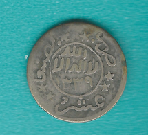 Yemen Mutawakkilite - Imam Yahya - 1/10 Imadi Riyal - AH1339 (1921) - C. 2grs - KMY5.2 NB: Accession Date 322 Not AH1339 - Yemen
