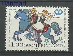 Finland 1981 Mi 884 MNH ( ZE3 FNL884 ) - Chevaux