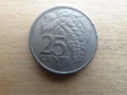 Trinite & Tobago  25  Cents  1981  Km 32 - Trinité & Tobago