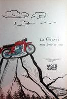 MOTO GUZZI   PUBBLICITA' ORIGINALE PICTURE OF VINTAGE PAPER 1960 - Pubblicitari