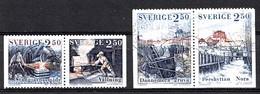Suède 1991 Mi.Nr.: 1680+1681+1682+1683 Eisenindustrie  Oblitérés / Used / Gestempeld - Gebruikt