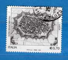 Italia- °-2013 - Patrimonio Artistico,MURA Di LUCCA - Unif. 3509  Usato. .  Vedi Descrizione - 6. 1946-.. Repubblica