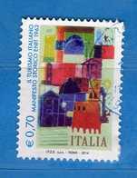 Italia- °-2014- Manifesto Storico ENIT - Unif. 3560.  Usato.   Vedi Descrizione - 6. 1946-.. Repubblica