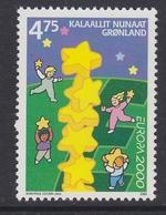 Europa Cept 2000 Greenland 1v  ** Mnh (41679A) - Europa-CEPT