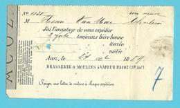 BRASSERIE & MOULINS A VAPEUR D'ACOZ 1889 (1437) - Belgique