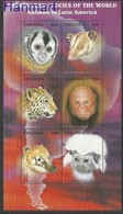 Tanzania 1997 Mi 2736-2741 MNH ( LZS4 TNZark2736-2741 ) - Félins