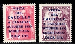 Espagne YT N° 806A/807A Neufs ** MNH (1er Tirage). TB. A Saisir! - 1931-Tegenwoordig: 2de Rep. - ...Juan Carlos I