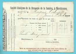 BRASSERIE DE LA SAMBRE, à MARCHIENNES 188. (1515) - 1800 – 1899