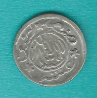 Yemen - Mutawakkilite - Imam Yahya - 1/10 Riyal - AH1341 (1923) - C. 2grs - KMY5.3 - 3 Stars On The Reverse. - Yemen