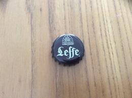 """Capsule De Bière """"Leffe R"""" Fond Marron Foncé HB (bière Belge) - Bière"""