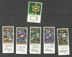 Israël N°362 à 367 Neufs** Cote 3.75 Euros - Israel