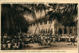 CEYLAN Moratuwa Franciscaines Missionnaires De Marie  Récréation Sous Les Cocotiers - Missions