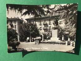 Cartolina Alba - Giardini Pubblici E Monumento Ai Caduti - 1911 - Cuneo