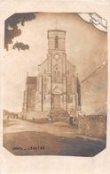 """¤¤  -   GRUES   -   Carte-Photo De L'Eglise En 1917   -  Photographe """" Clément Girard """"    -   ¤¤ - France"""