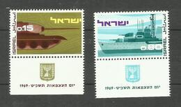 Israël N°375, 376 Neufs** Cote 3.20 Euros - Israel