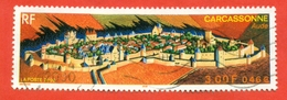 France 2000. Carcassonne. Used Stamps. - Geography