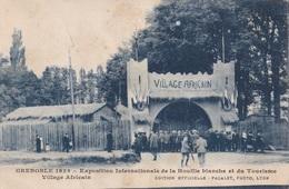 GRENOBLE EXPOSITION INTERNATIONALE DE LA HOUILLE BLANCHE ET DU TOURISME VILLAGE AFRICAN   VG   AUTENTICA 100% - Grenoble