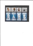 Séries N° 2832/35 Et 2850/53 Oblitérés - Used Stamps