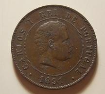 Portugal 20 Reis 1891 A - Portugal
