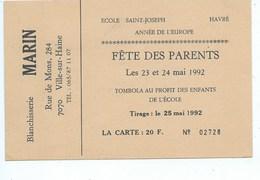 Havre Publicité Blanchisserie Marin Ville Sur Haine - Mons