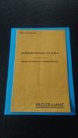 Programme Du Gala Salle Des Fetes De SPIRE Le 2 Et 3 Aout 1945 - 1939-45