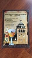 Affiche. 2005. Bière De Abbaye De Leffe. Journées Du Patrimoine. Ontdek De Bakermat Van Leffe. - Affiches