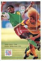 Lote 1994, Nicaragua, 1960, HF, SS, USA 94, Soccer, Football, Futbol, Carlos Valderrama, Colombia, FIFA - Nicaragua
