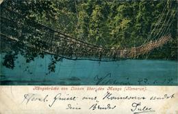 CAMEROUN Pont Suspendu En Lianes Au Dessus Du Mungo  22.01.1905 - Cameroon