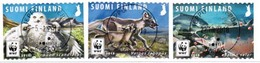 2018 Finland, WWF Endangared Species M 2563-5, Complete Fine Used Set. - Finlande