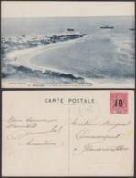 """Madagascar - CP Voyagée - MAJUNGA """" La Pointe De Sable Et La Baie De Kombétoka  """" (6G19424) DC1449 - Madagascar"""