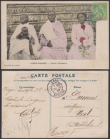 "Madagascar - CP Voyagée - DIEGO-SUAREZ "" Famille D'Antémour "" (6G19424) DC1459 - Madagascar"