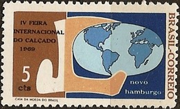 BRAZIL #1117 - 4th  International Footwear Fair   - 1969  - Mnh - Brazil
