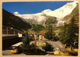 Saas-Fee Postplatz Allaninhorn - VS Valais