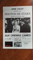 Affiche. Cinéma. Namur. Aux Cinémas Caméo. Kim Bassinger. Photos De Stars. Oscars 1990. Anne Culot - Affiches