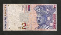 MALAYSIA - MALESIA - 2 RINGGIT (1996 - 1999) - Malesia